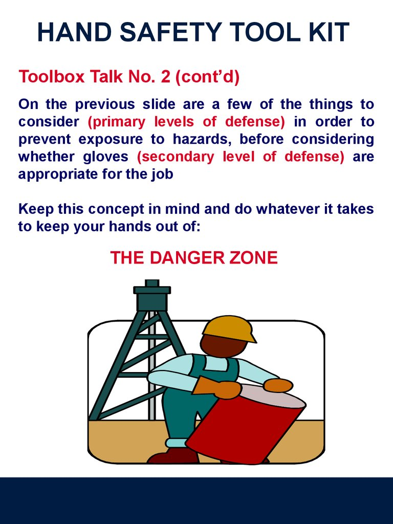 Hand Safety Tool Kit Online Presentation