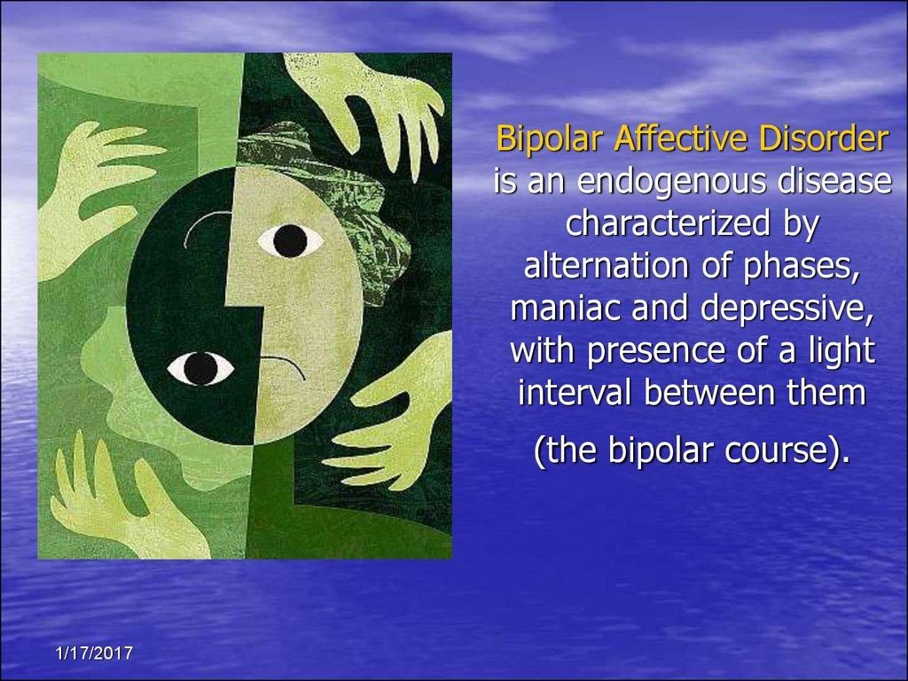 bipolar disprder Find in-depth information on bipolar disorder from symptoms to medication options.