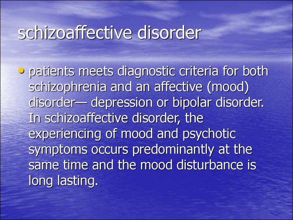 schizoaffective and brief psychotic disorder One form of brief psychotic disorder referred to as brief reactive psychosis has been found to be triggered by very stressful experiences, like placement in solitary confinement suicidal behaviour in schizophrenia and schizoaffective disorder: examining the role of depression.
