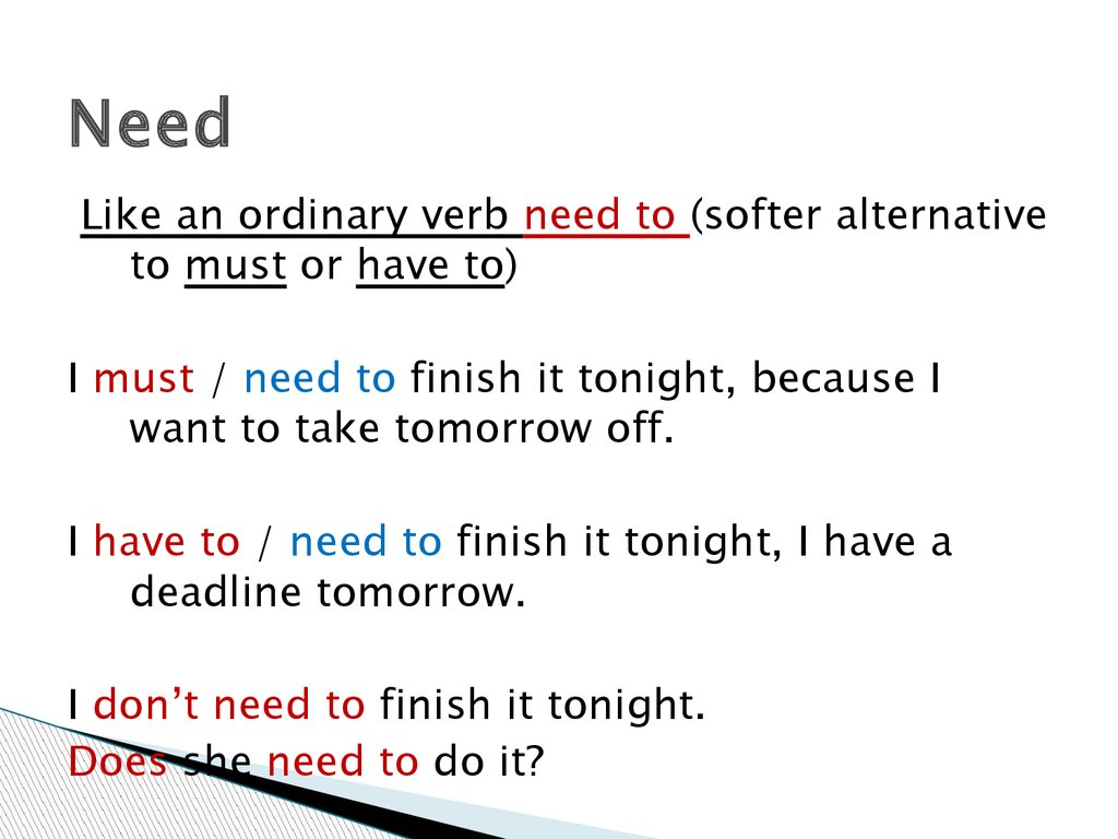 Modal Verbs Online Presentation