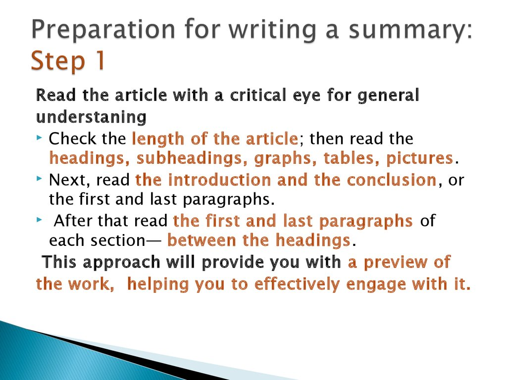 summary writing online