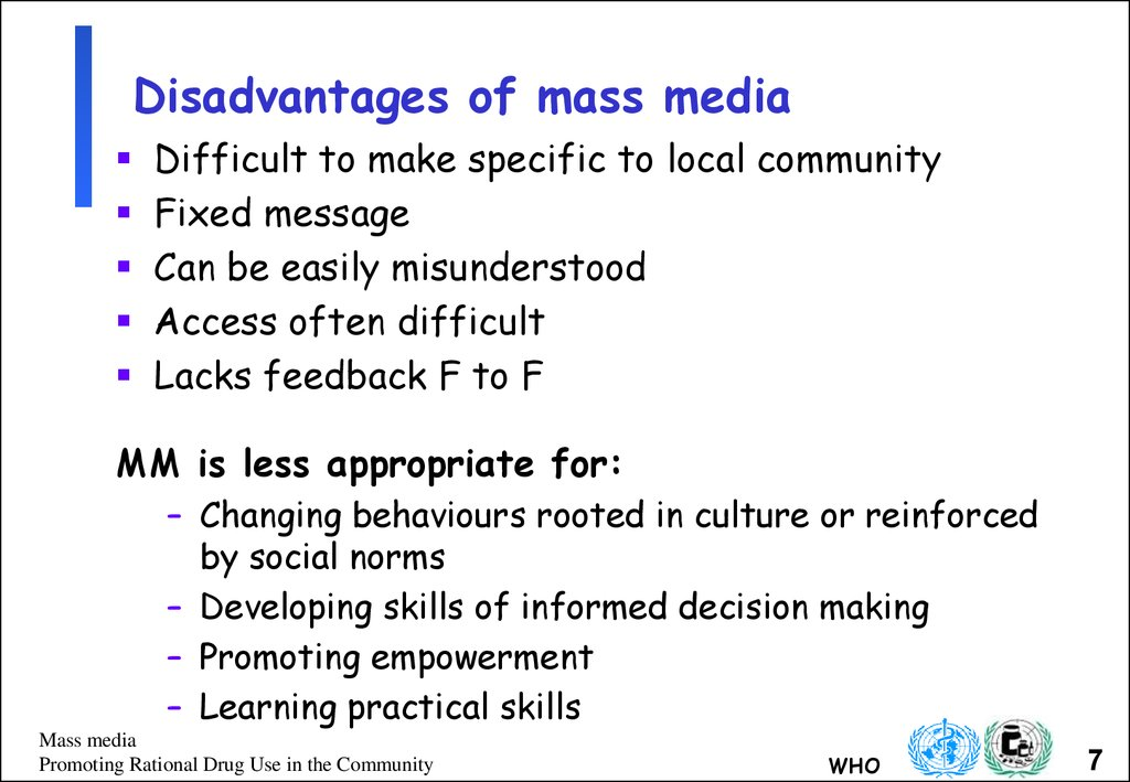an overview of the mass media We begin in section 2 with a brief overview 1our focus on the political economy of the media leaves out an studies found that the mass media of radio and.