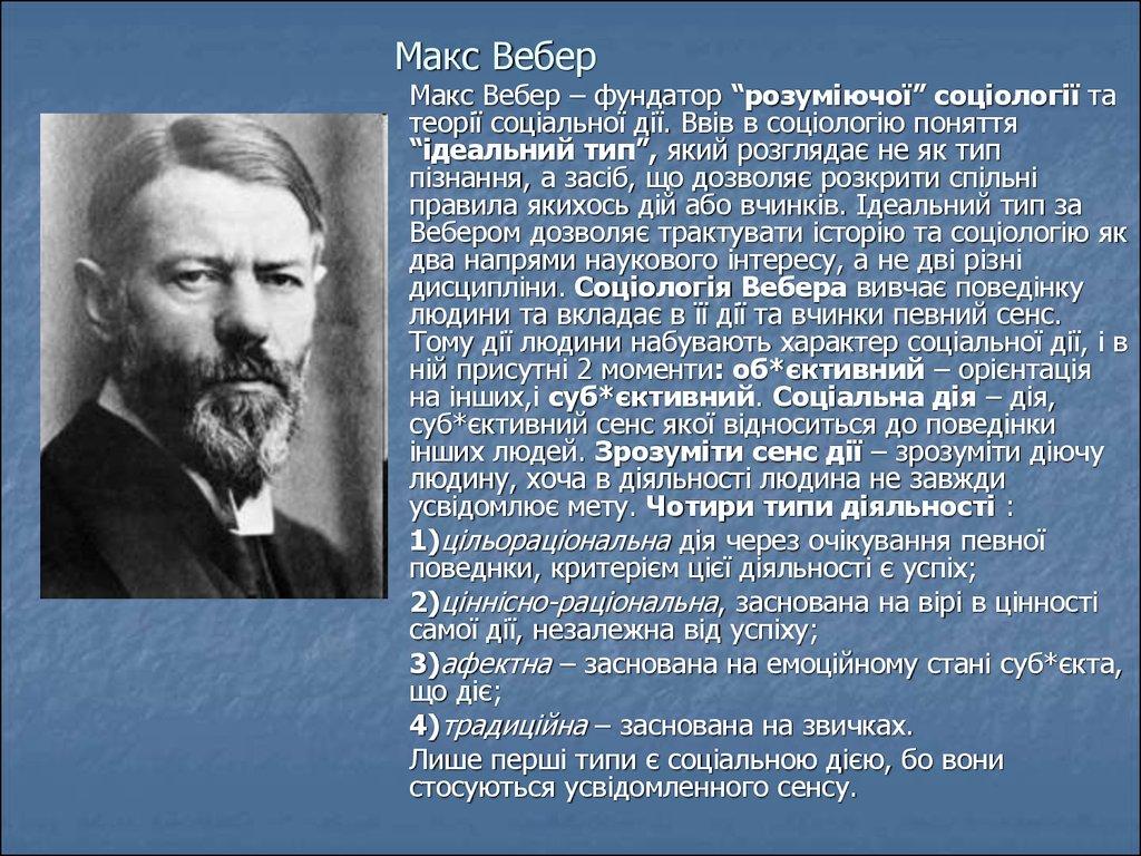 max weber a short biography