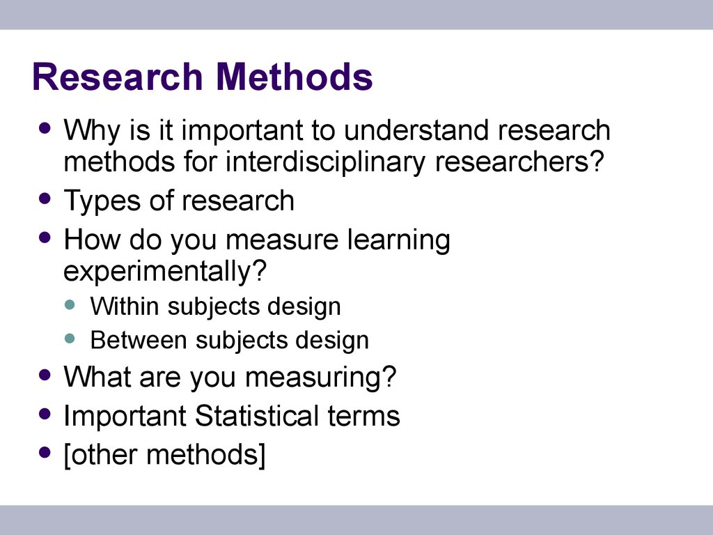 importance of research pdf