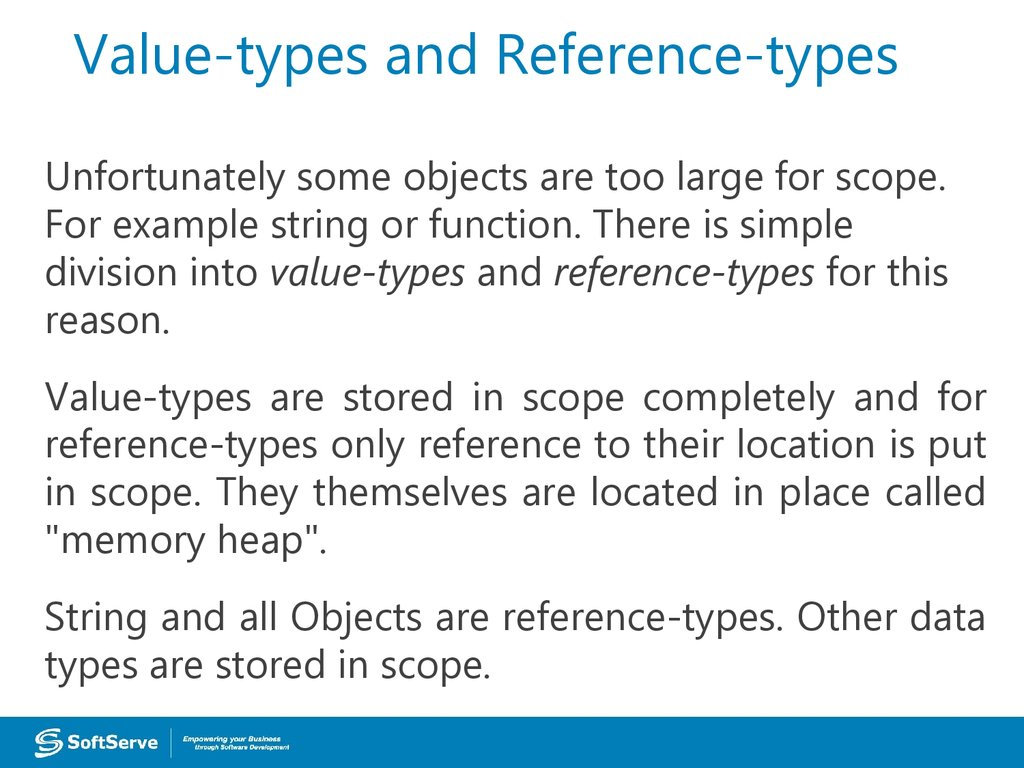 Value-types and Reference-types