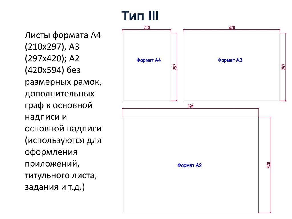 Правила оформления дипломного проекта презентация онлайн  Тип iii