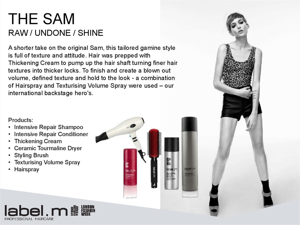 Collection 2014/15 Label m - online presentation