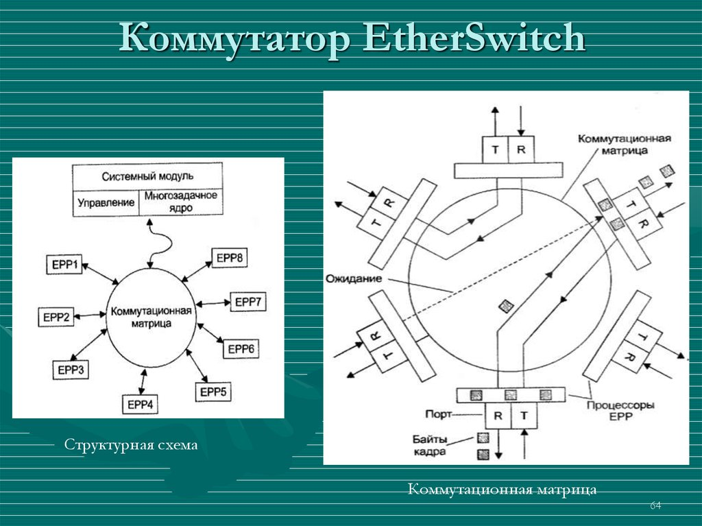Коммутатор EtherSwitch
