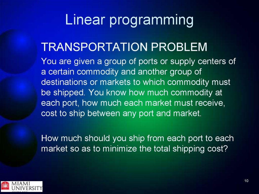role of linear programming in decision making Prescriptive analytics relies on optimization and rules-based techniques for decision making optimization techniques such as linear programming , integer programming , and nonlinear programming play an important role in prescriptive analytics, since they enable a set of decisions to be made in an optimal way.