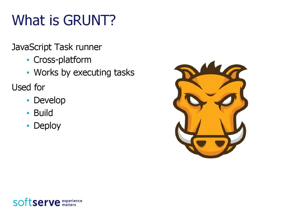 What is GRUNT?