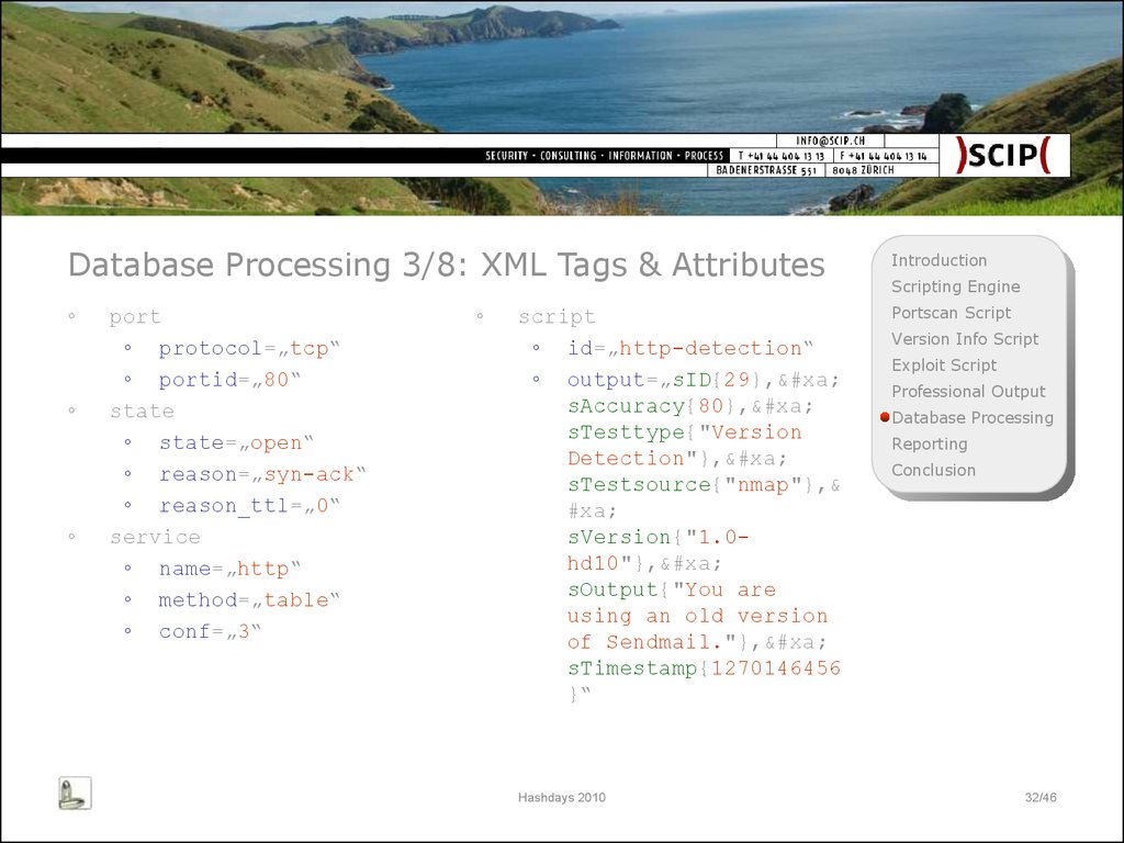 Database Processing 3/8: XML Tags & Attributes
