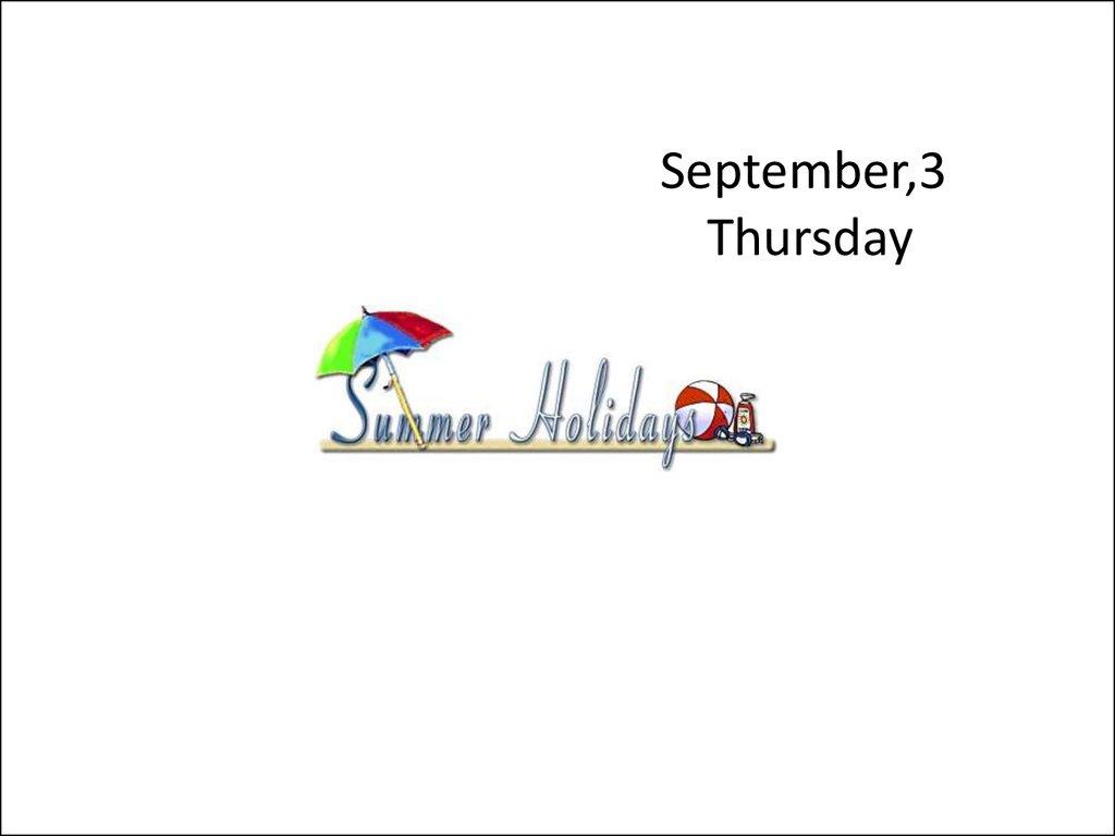 Summer holidays oral practice - online presentation