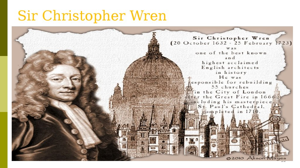 christopher wren's designs for st paul's In 1668, christopher wren - still only in his thirties - was invited to submit proposals for a new st paul's to replace the medieval cathedral destroyed in the great fire of london it was the greatest building project of the age, taking a decade to design and 40 years to build it survives as.