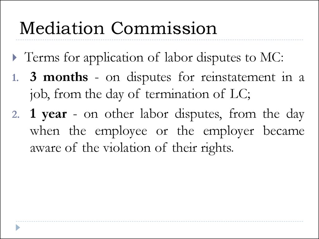 labor disputes For workers: view, print or download a guide on how to recover your unpaid wages with the labor commissioner's office this guide is available in english.