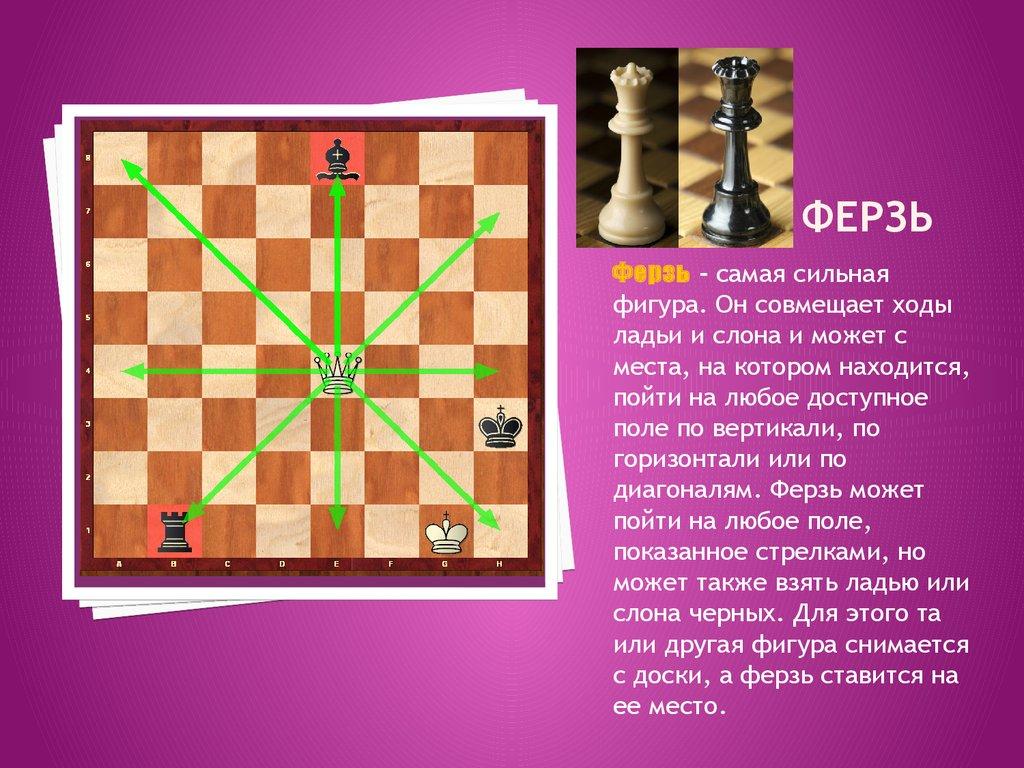 знакомство с шахматной доской и фигурами