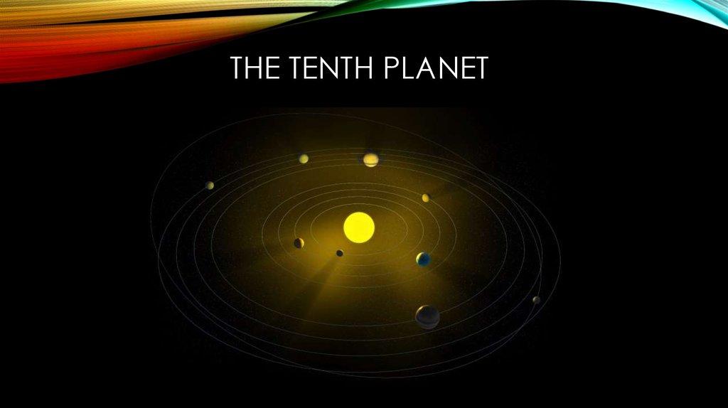 The Discovery Of The Dwarf Planet Eris презентация онлайн