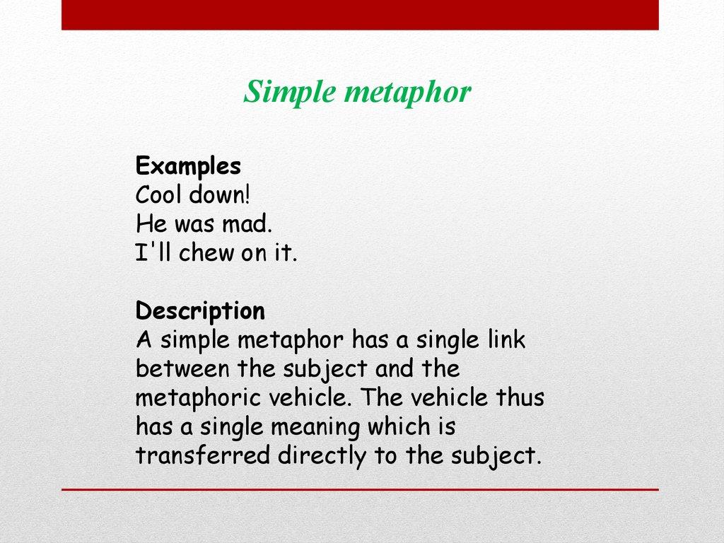 Metaphors History Of Metaphors Online Presentation