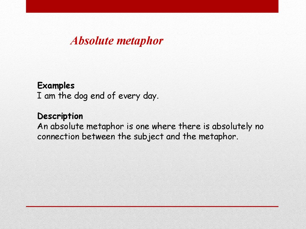 Metaphors History Of Metaphors Online Presentation