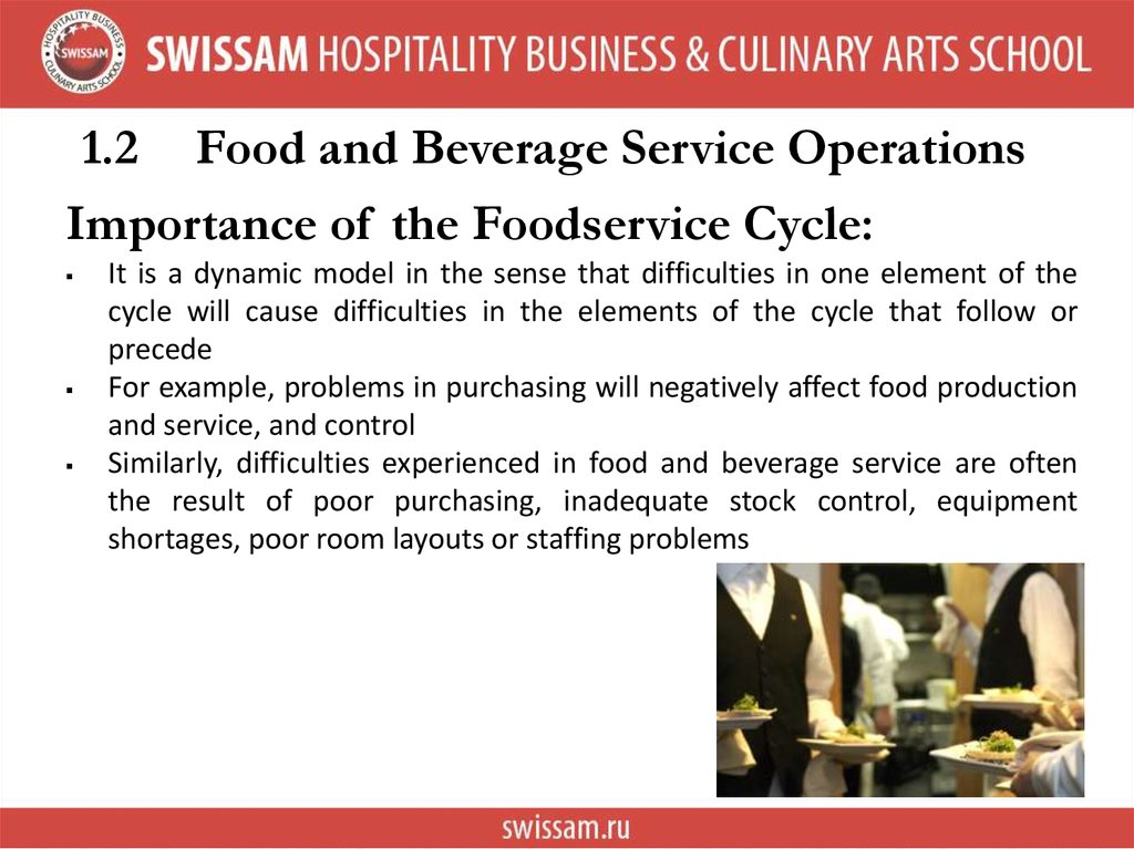 an introduction to food service industry Home introduction to food and beverage theory introduction to food and beverage theory september 23,  the food service industry (catering industry in british english) encompasses those places, institutions and companies that provide meals eaten away from home  introduction to catering industry.