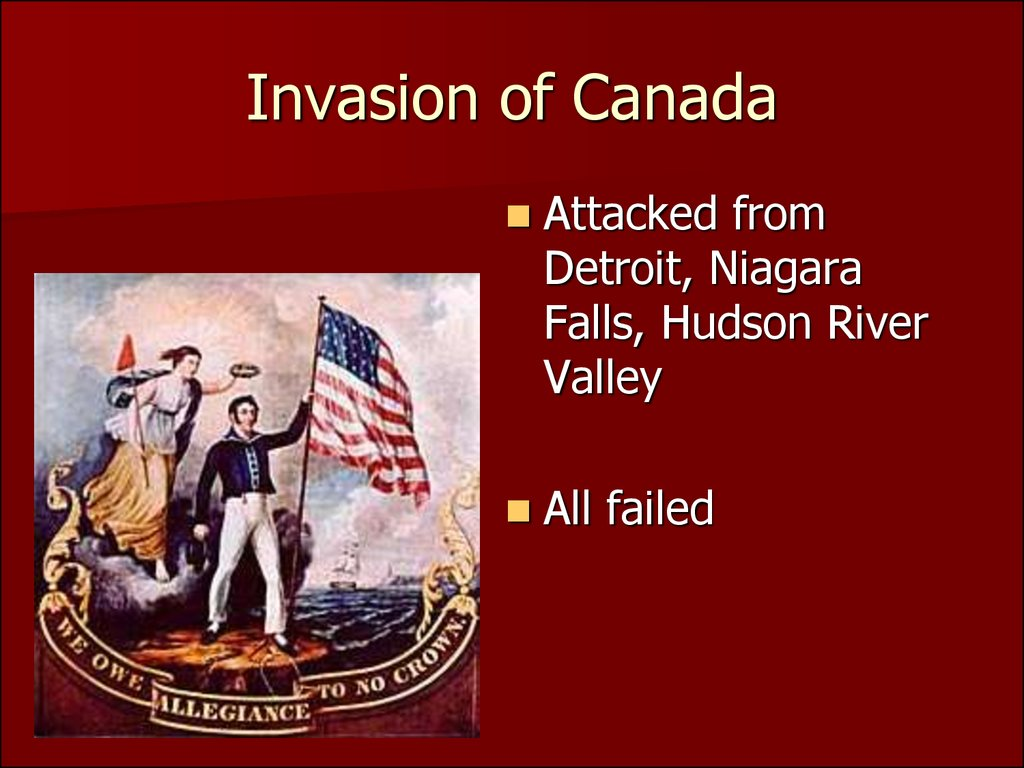 an analysis of the war of 1812 the second american war for independence Second war of american independence the war was fought on land and on the sea and lasted almost three years one of the biggest offensives was the british.