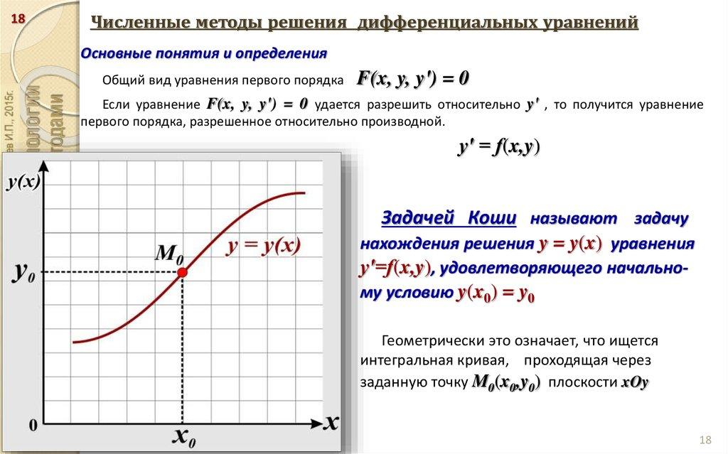 численные методы картинка ромашками для публикации