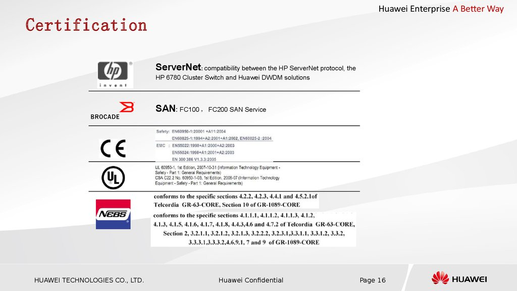Huawei OSN1800 Pre-sale Training Slide for agent (2012