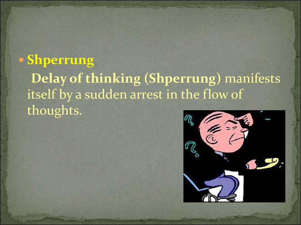 Elements of thinking online presentation delay of thinking shperrung manifests itself by a sudden arrest in the flow of thoughts biocorpaavc Image collections
