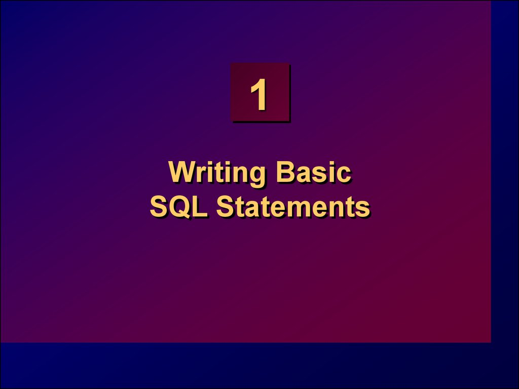 writing sql statement Using structured query language (sql) statements, you can retrieve data from data collections categorized into tables, records and fields use microsoft query in excel to get.