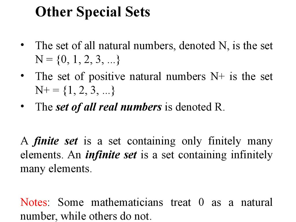 Discrete Mathematics Sets Online Presentation