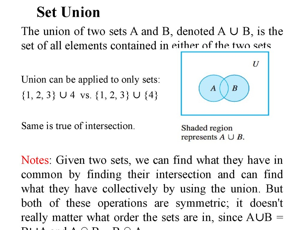 Math how find the union trailer light wire diagram discrete mathematics sets slide 9 60484 math how find the union math how find the union pooptronica Choice Image
