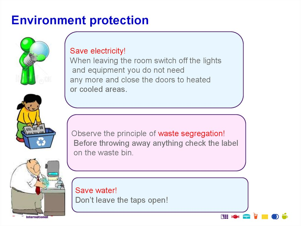 Environment protection