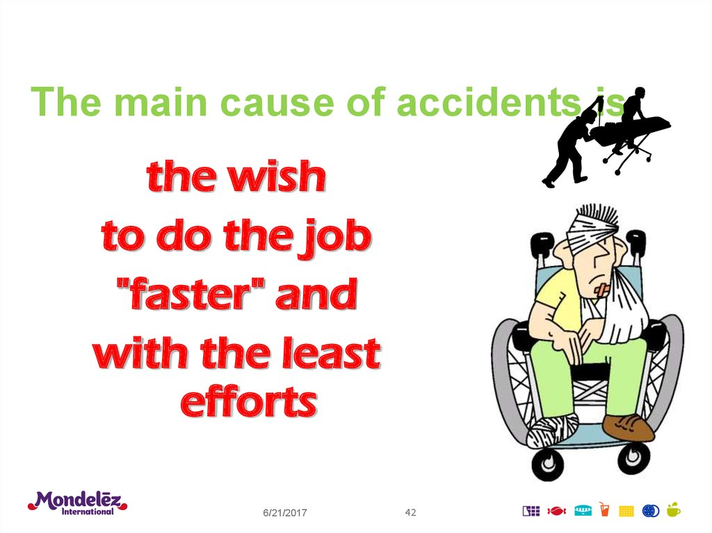 The main cause of accidents is
