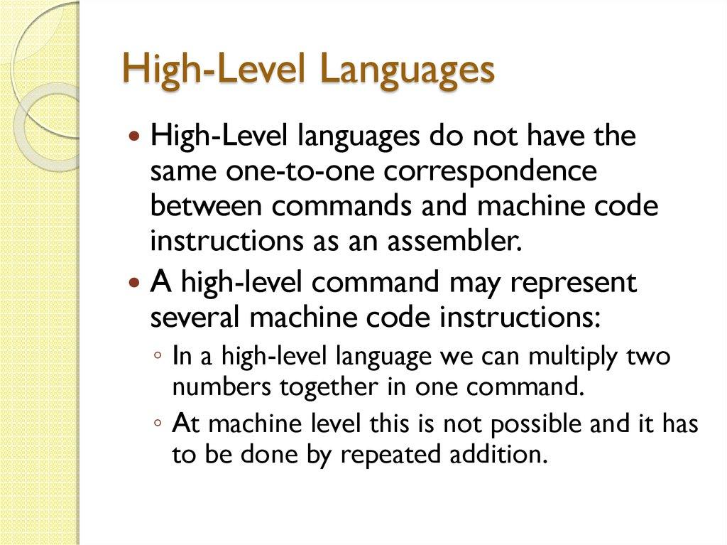 Family of Programming Languages - презентация онлайн