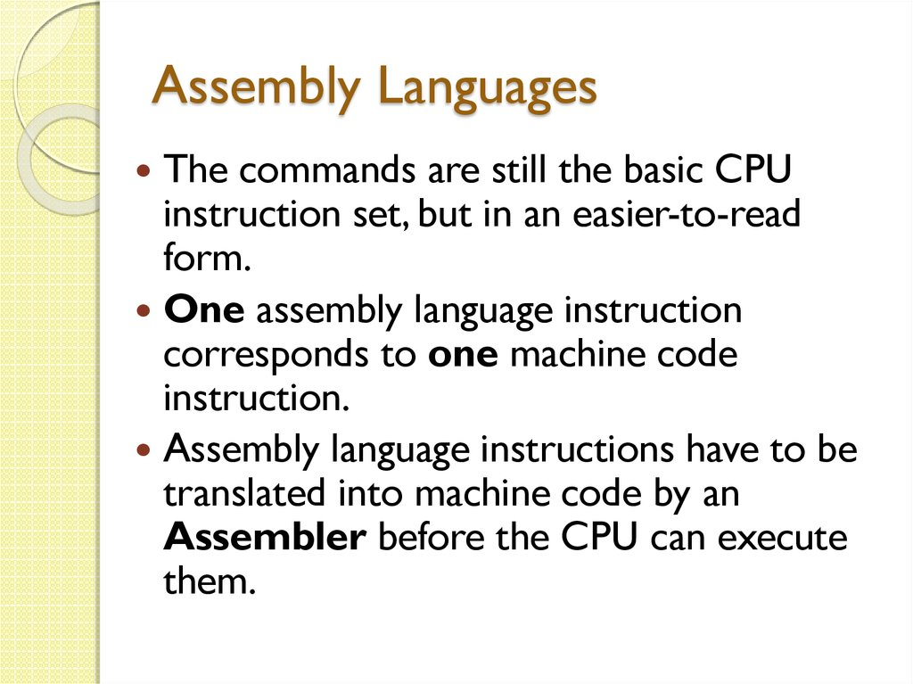 Family of Programming Languages - online presentation