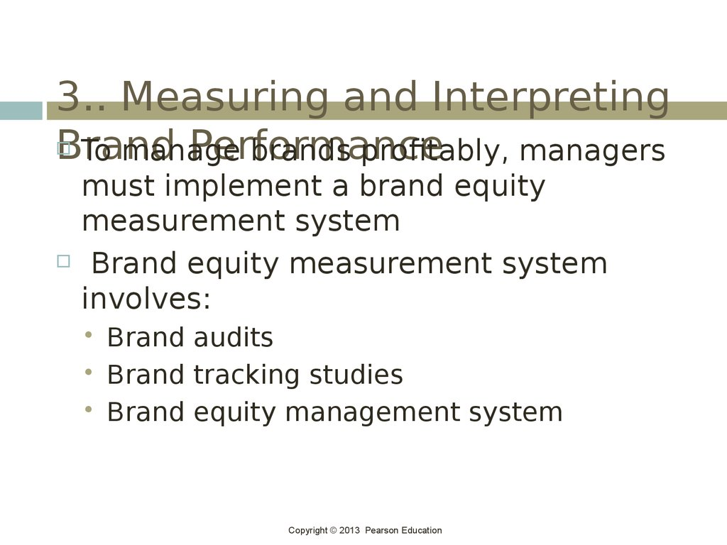 3.. Measuring and Interpreting Brand Performance