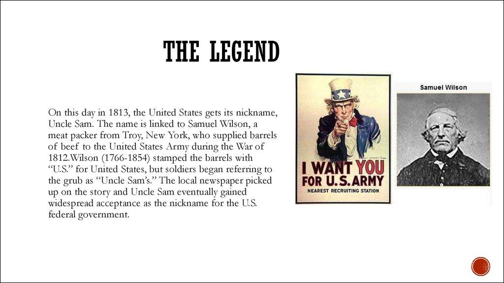 Uncle Sam American Symbol Online Presentation