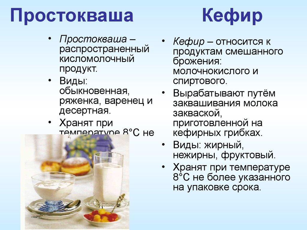 Доклад по кисломолочным продуктам 4343