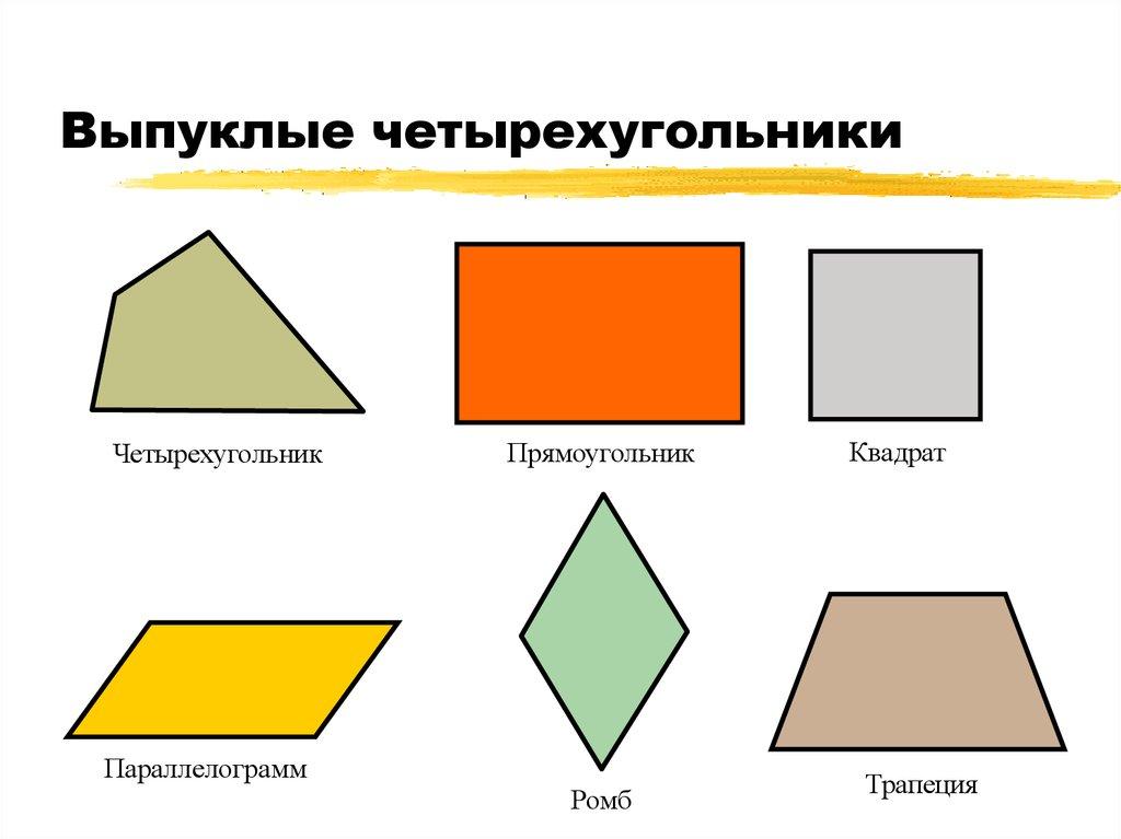 Как выглядит четырехугольник картинка, поздравления
