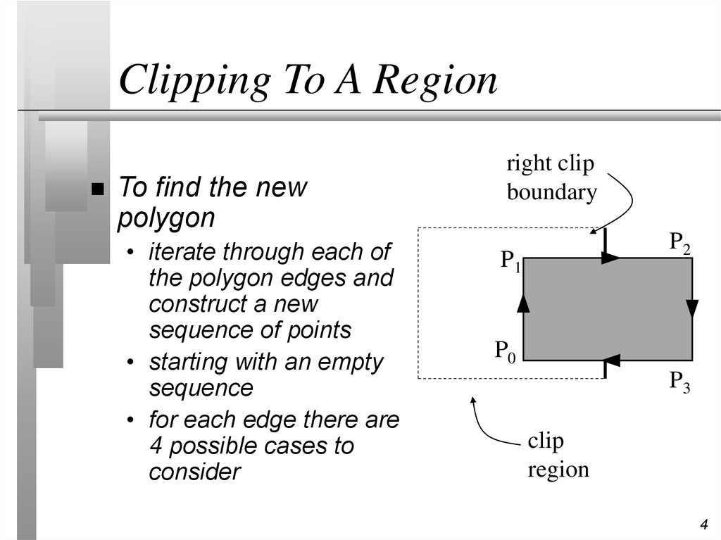 Clipping To A Region