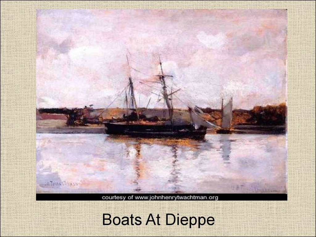 Boats At Dieppe