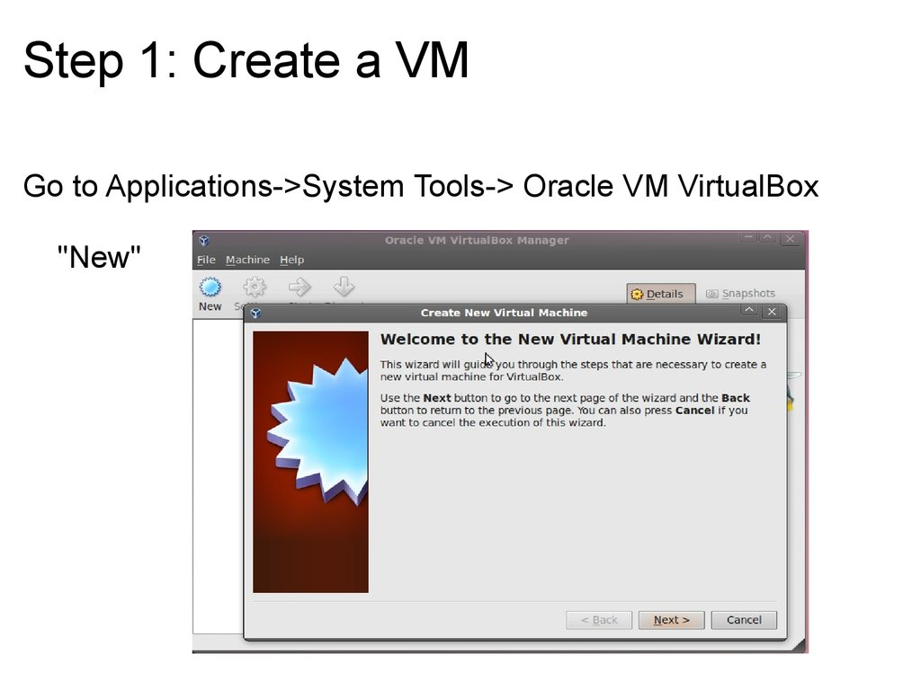 how to run a virtual machine