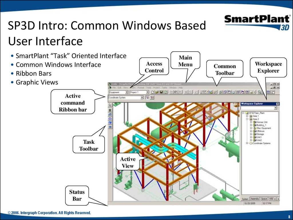 SP3D Intro: Common Windows Based User Interface