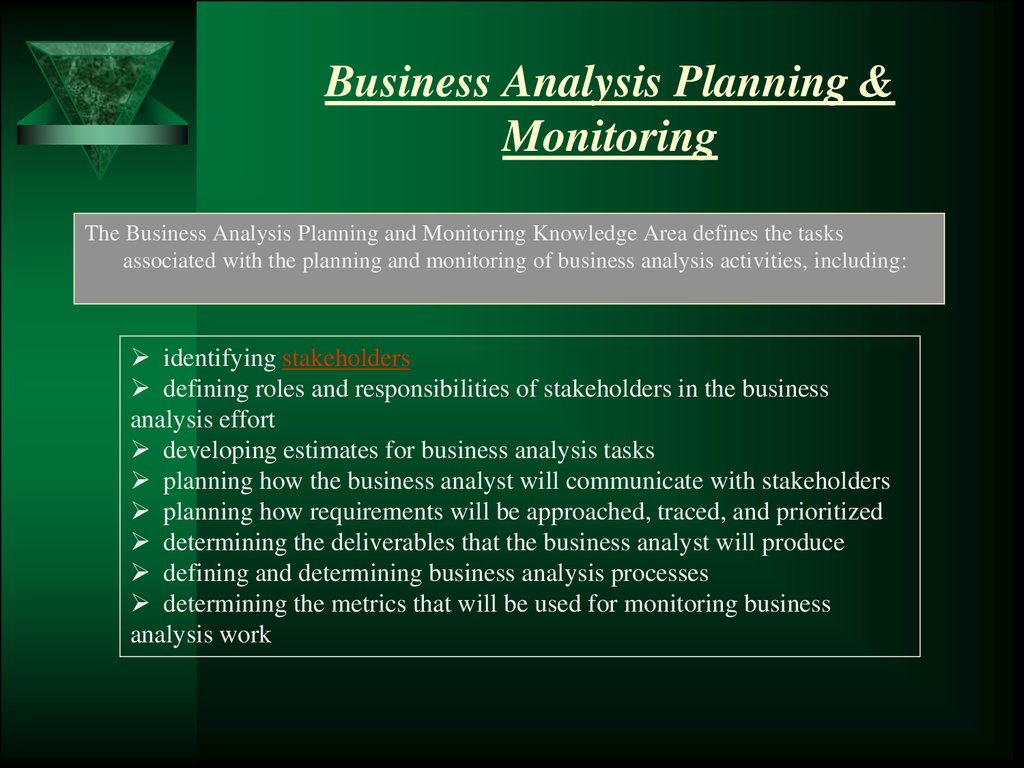 business analysys Watch video learn how to perform business analysis for company projects learn how to perform business analysis for company projects skip.