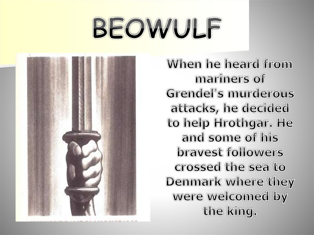 the growth of grendel english literature essay Beowulf is regarded as the first epic in english literature, more specifically, old english literature it is written in verse form and the poet is anonymous just like you should know about resistors and transistors before you go to analog and digital circuits.