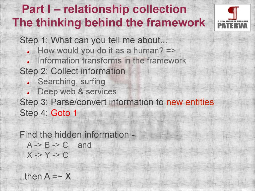 Introduction  Things are changing - online presentation