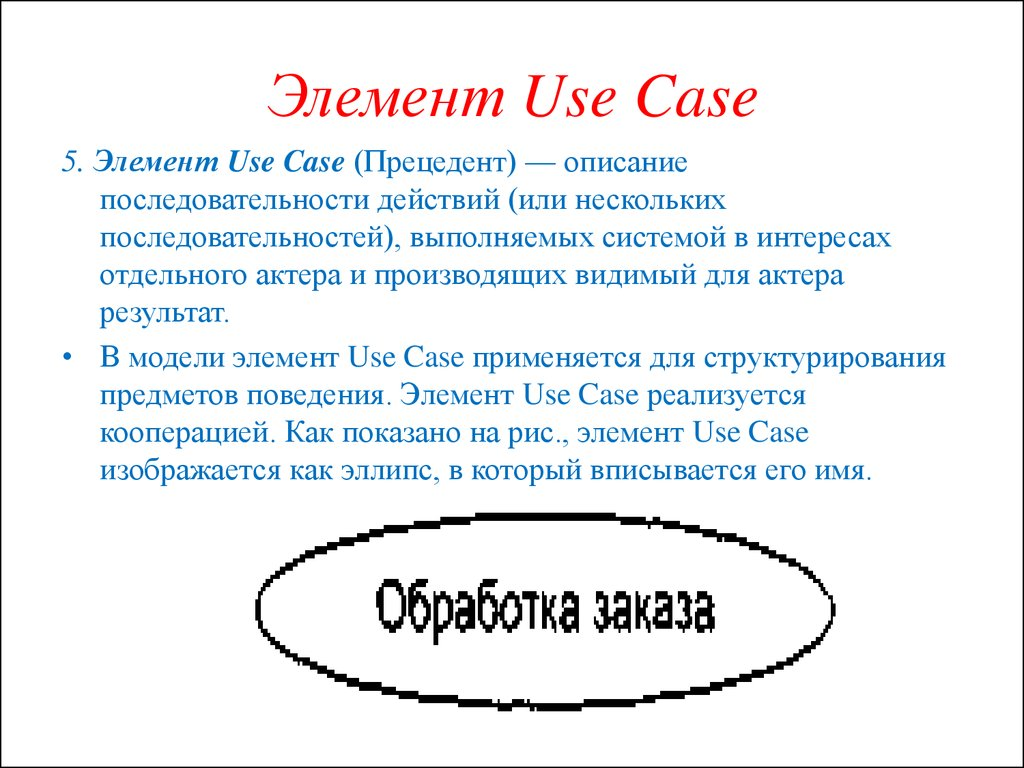 Элемент Use Case