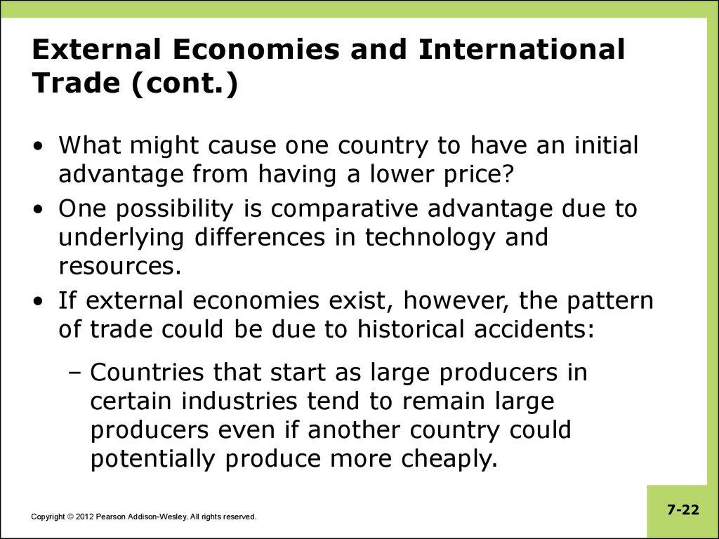 externalities in economics