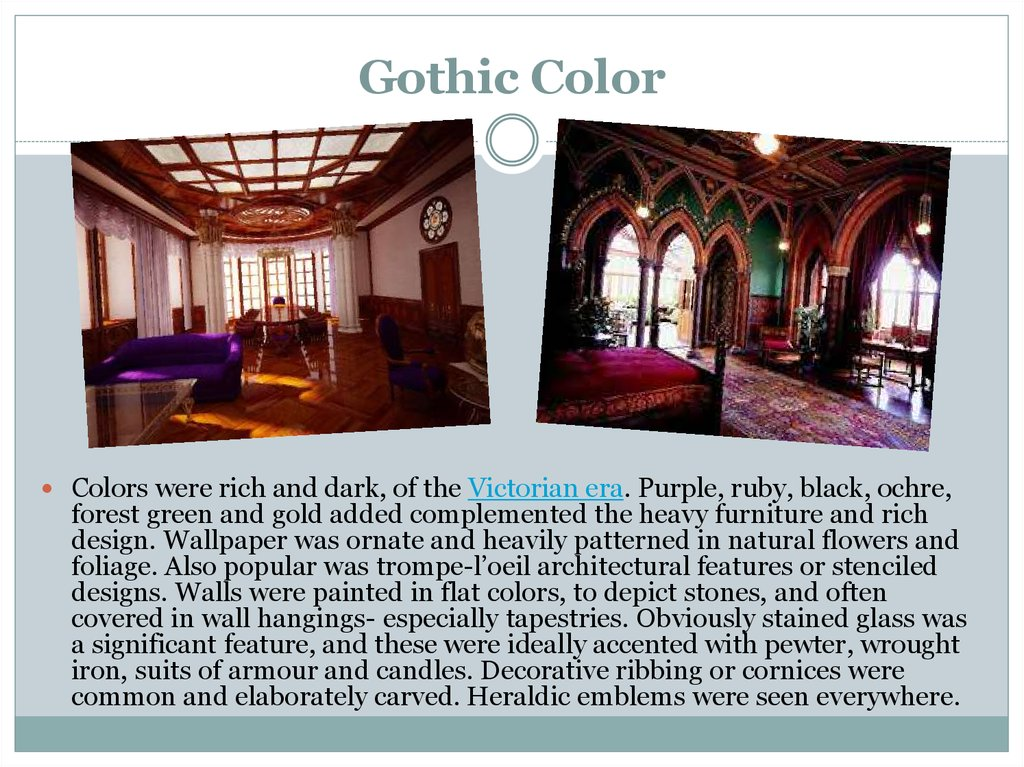 Gothic Color