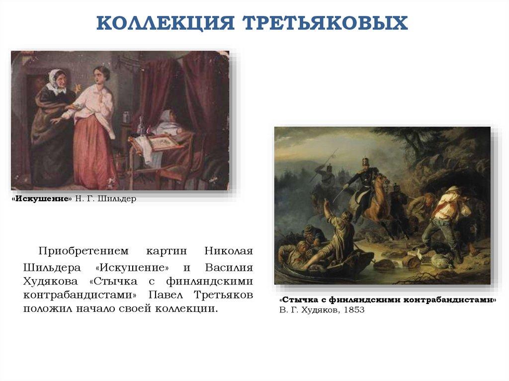 Картины купленные третьяковым