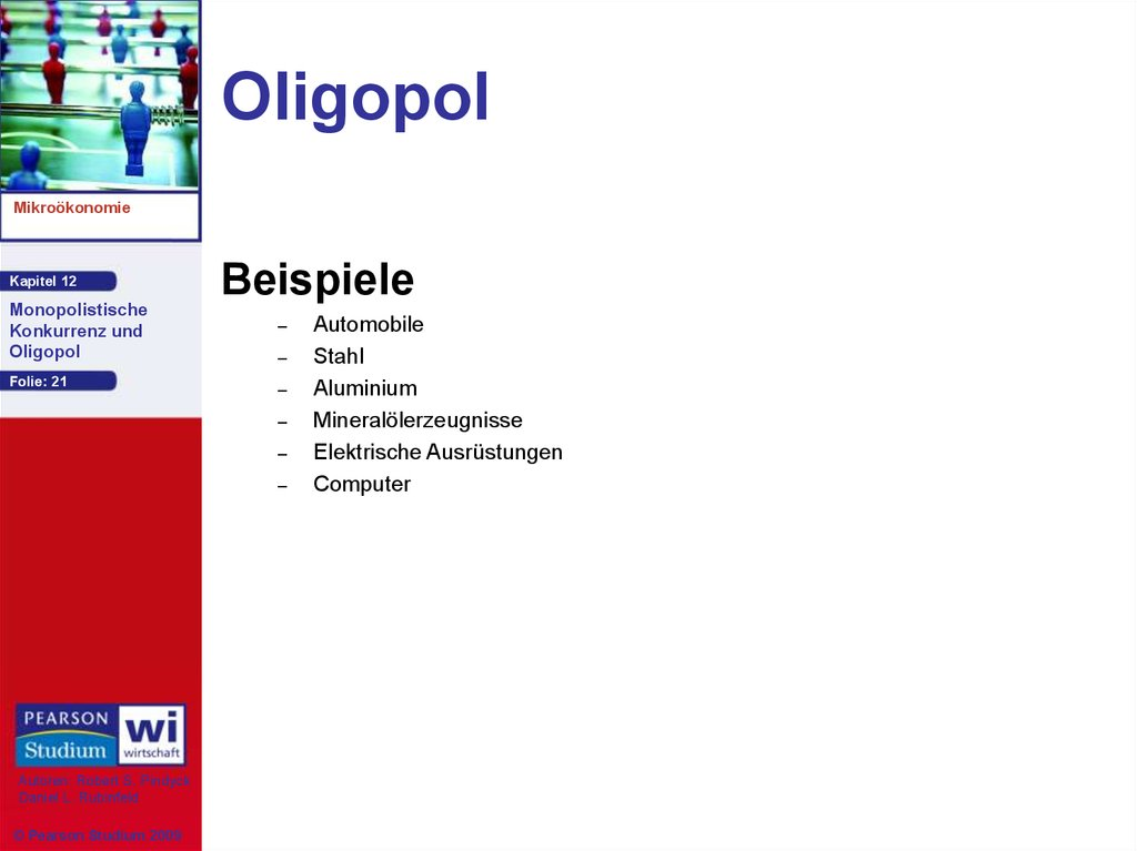 Oligopol Definition Auswirkungen 5